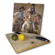 WGI GALLERY That Western Spirit 12'' x 12'' Cutting Board