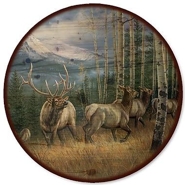 WGI GALLERY Back Country Elk Lazy Susan