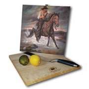 WGI GALLERY The Crossing 12'' x 12'' Cutting Board
