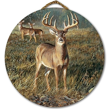 WGI GALLERY 'First Light Buck' Painting Print on Wood