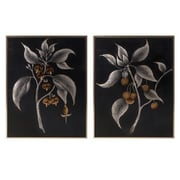 Woodland Imports 'Ebina' 2 Piece Framed Wall Art Set