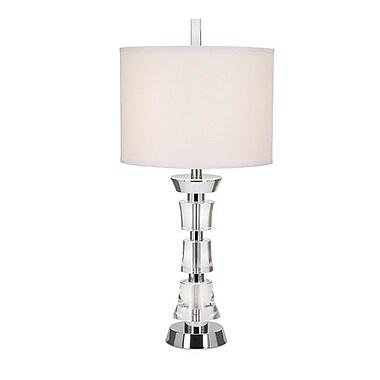 Woodland Imports Darla Crystal 30'' H Table Lamp