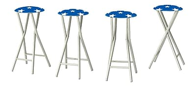 Best of Times 30'' Patio Bar Stool w/ Cushion (Set of 4)