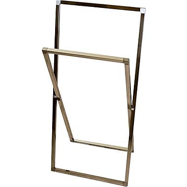 Kingston Brass Edenscape Free Standing Towel Stand; Satin Nickel