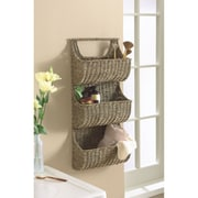 TAG Seagrass 3 Part Wall Basket