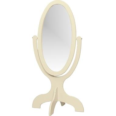 Little Colorado 48'' H x 26'' W Child's Cheval Mirror; Linen MDF