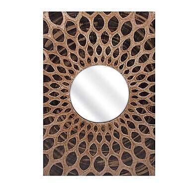 Woodland Imports Sunburst Wall Mirror