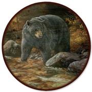 WGI GALLERY Streamside Bear Lazy Susan