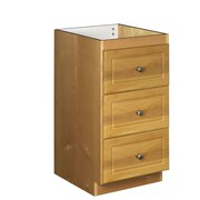 Strasser Woodenworks Simplicity 18'' W x 34.5'' H Cabinet; Natural alder