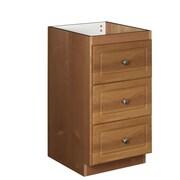 Strasser Woodenworks Simplicity 18'' W x 34.5'' H Cabinet; Medium alder