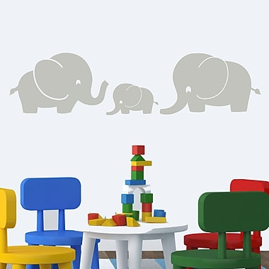 DecaltheWalls Elephant Family Large Wall Decal