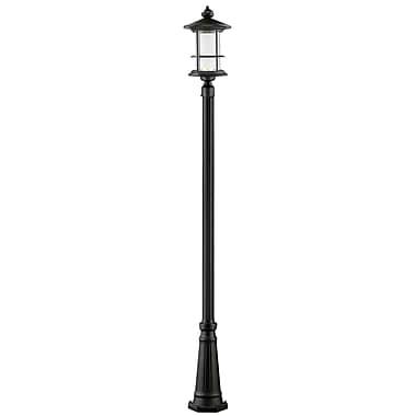 Z-Lite Genesis 1-Light LED 111.75'' Post Light