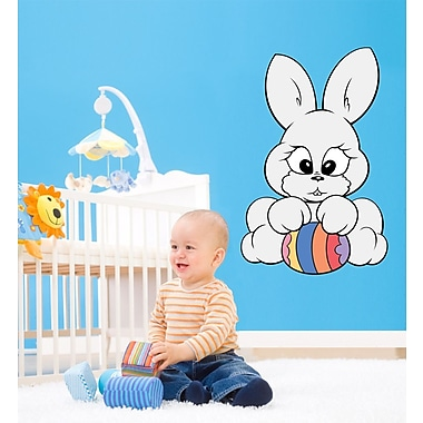 Wallhogs Easter Bunny Cutout Wall Decal; 48'' H x 31'' W