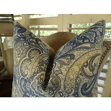 Plutus Brands Paciotti Handmade Throw Pillow; 20'' H x 26'' W