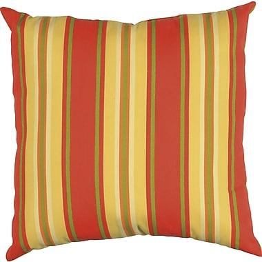 Wildon Home Clarinda Indoor/Outdoor Floor Pillow; Sangria
