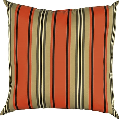 Wildon Home Clarinda Indoor/Outdoor Floor Pillow; Red Pepper