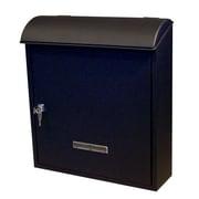 Fine Art Lighting Vault Locking Wall Mounted Mailbox
