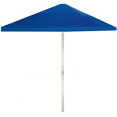 Best of Times 8' Square Market Umbrella; Royal Blue