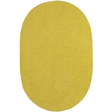 Capel Custom Classics Braided Leaf Area Rug; Oval 2' x 3'