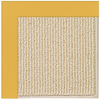 Capel Zoe Machine Tufted Jonquil Indoor/Outdoor Area Rug; Square 6'