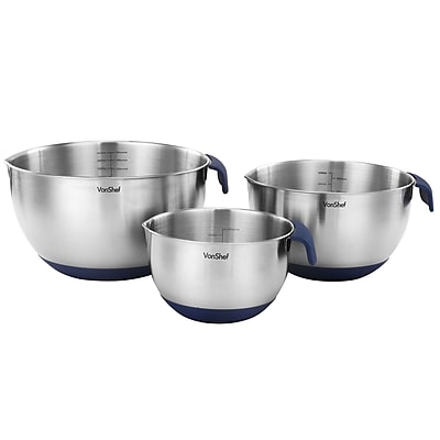 VonShef Stainless Steel Mixing Bowl