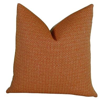 Plutus Brands Lone Oak Cayenne Handmade Throw Pillow; 20'' H x 30'' W