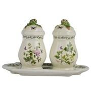 Kaldun & Bogle Herb de Provence 3 Piece Salt and Pepper Shaker w/ Tray (Set of 2)