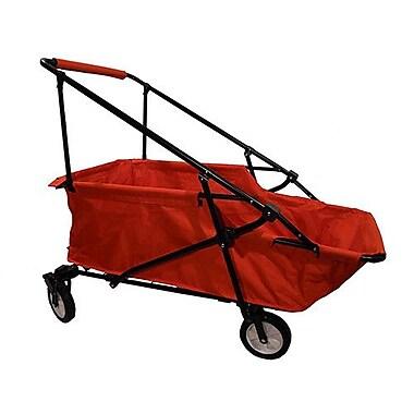 ImpactCanopy Folding Wagon Utility Cart; Red