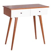 Porthos Home Chandra Console Table; White