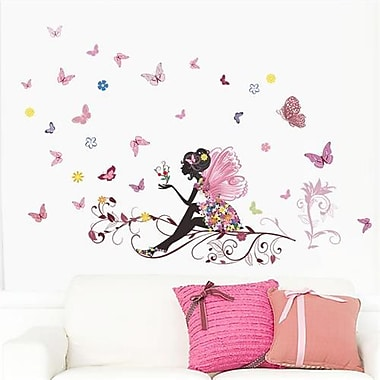 RetailSource Fairy Friends and Thoughts Wall Decal