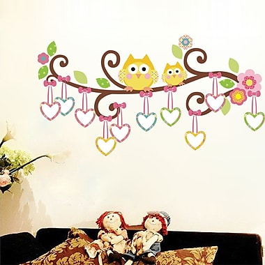 RetailSource Branch of Love and Forest of Who are Your Friends Wall Decal