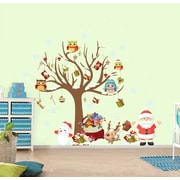 RetailSource A Tree and It's Christmas Friends Wall Decal