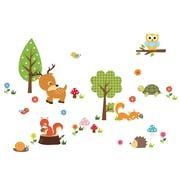 RetailSource Forest Scene Full of Life Wall Decal