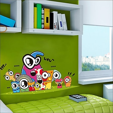 RetailSource Eyes of Friends Wall Decal