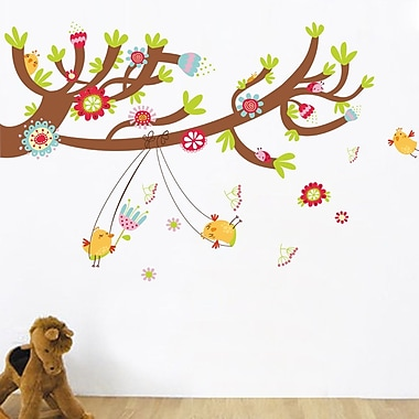 RetailSource Swinging from the Tree Wall Decal