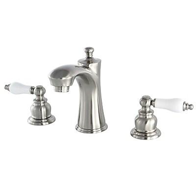 Kingston Brass Victorian Lavatory Faucet; Satin Nickel