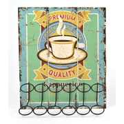 The Gerson Companies Lone Elm Studio 10 Pod Single Serve Coffee Capsule Holder