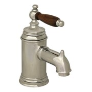 Whitehaus Collection Fountainhaus Single Handle Bathroom Faucet w/ Pop-Up Waste; Polished Chrome
