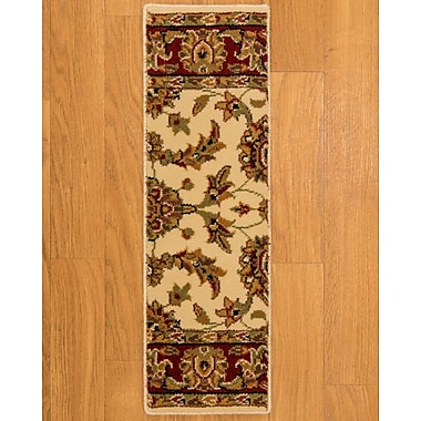 Natural Area Rugs Sydney Cream Classic Persian Stair Tread (Set of 13)
