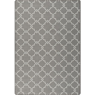Milliken Imagine Gray Area Rug; Rectangle 7'8'' x 10'9''