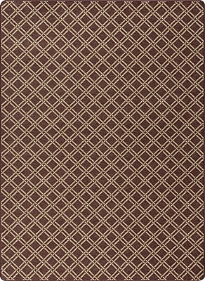 Milliken Imagine Brown Area Rug; Rectangle 5'4'' x 7'8''