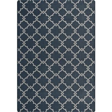 Milliken Imagine Black/Gray Area Rug; Rectangle 5'4'' x 7'8''