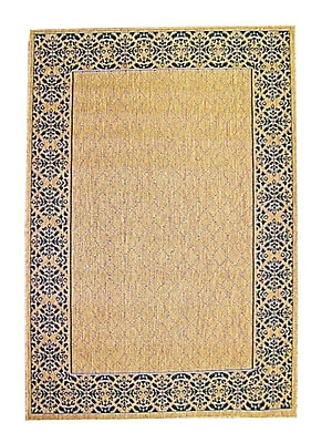 American Mills Medallion Brown Area Rug; 2' x 3'