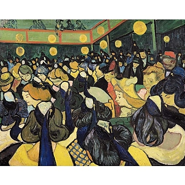Wallhogs Van Gogh The Dance Hall at Arles (1888) Wall Mural; 19'' H x 24'' W