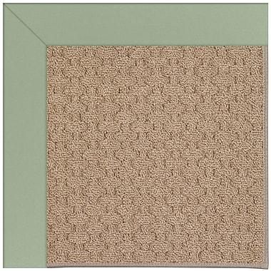 Capel Zoe Grassy Mountain Machine Tufted Green/Brown Indoor/Outdoor Area Rug; Rectangle 5' x 8'