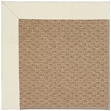 Capel Zoe Machine Tufted Alabaster Indoor/Outdoor Area Rug; Round 12' x 12'