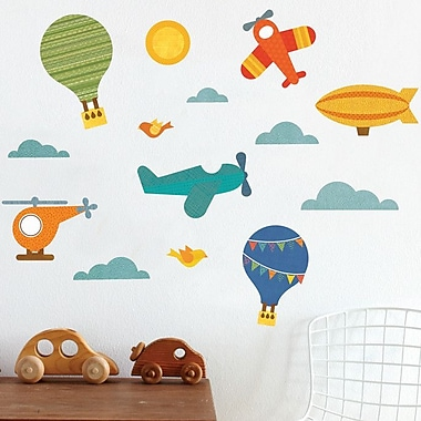 Petit Collage By Air Wall Decal