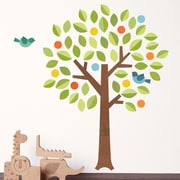 Petit Collage Tree Polka Dot Wall Decal