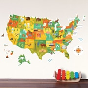 Petit Collage USA Wall Decal