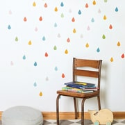 Petit Collage Drops Wall Decal
